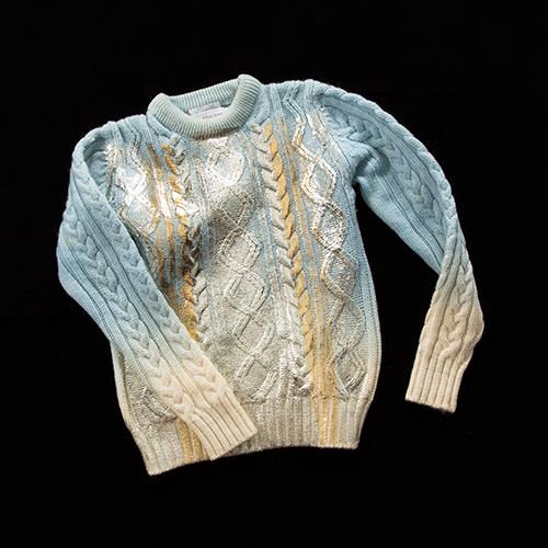 記憶の中のセーター 2014AW YUKI FUJISAWA